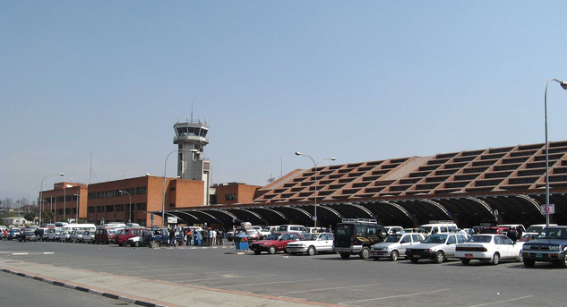 Tribhuvan International Airport, NepálFotó: Ralf Lotys - Wikipedia