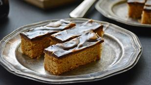 Pénteki süti: mogyoróvajas csokis szelet