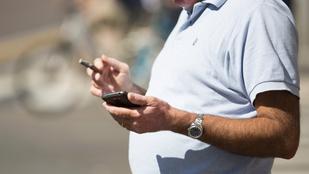A mobilszolgálató örülhetett a legjobban a budapesti férfi szakításának