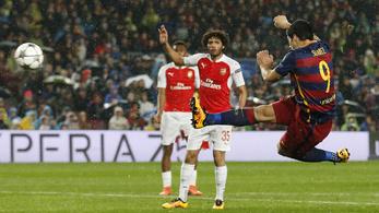 Ne hagyjuk szó nélkül a Suarez-gólt