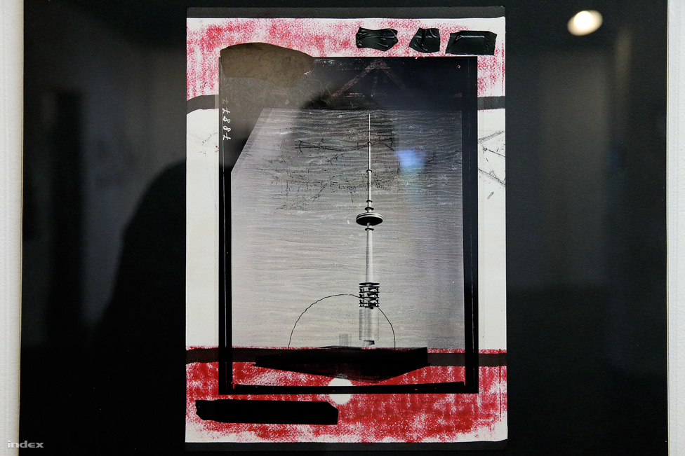 A FEHÉR VERA: Szubjektív rekonstrukció / Érhálózat tervpályázat (1-3)                         2016                          25x35 cm; vegyes technika                         fotótranszfer, síknyomás, tollrajz, írásvetítő fólia, fekete szigetelőszalag