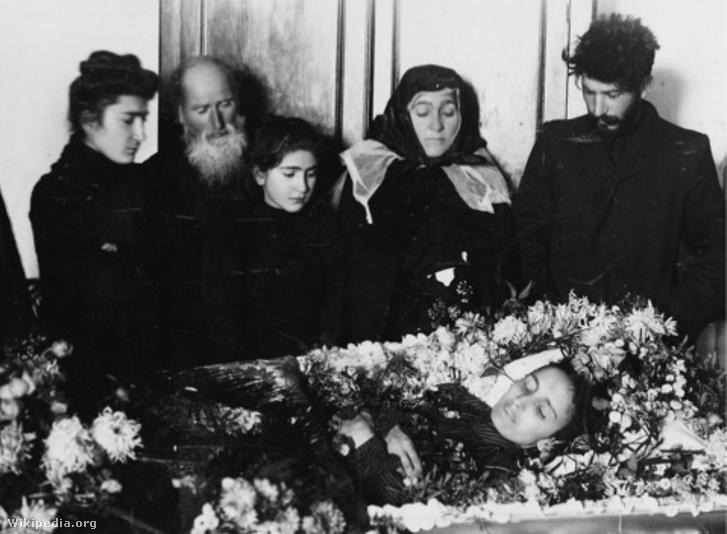Kato Svanidze funeral