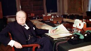 Ezt az urat Churchill szelleme zaklatta a metrón