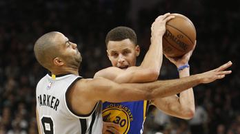 Curry elfelejtette, hogyan kell triplát dobni