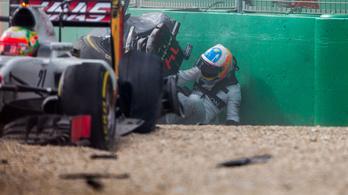 Alonso végül mindent elárult eltitkolt sérüléseiről