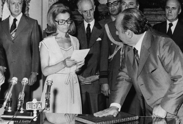 Isabel Perón 1976-ban