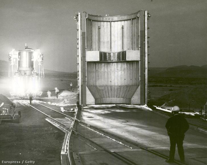 A NERVA-projekt kísérlete 1967-ben