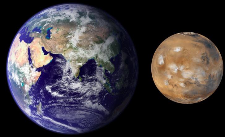Az oroszok másfél év helyett 45 nap alatt teljesítenék a Föld és a Mars közti távolságot