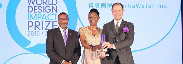 A Warka Watert is díjazták a Nemzetközi Design Gálán.
