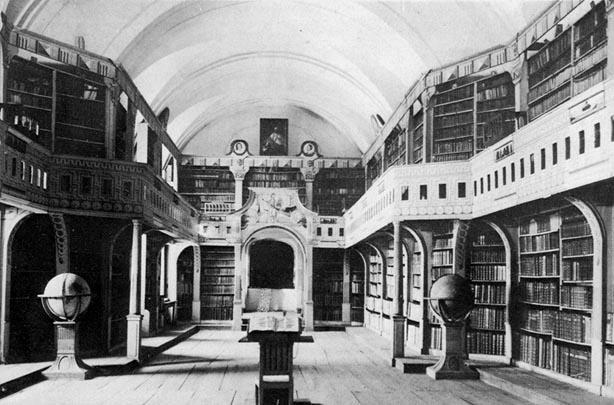 A Batthyáneum könyvtárterme