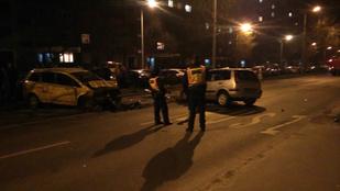 Durva baleset történt Újpalotán