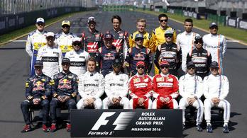 Közleményben lázadnak a pilóták az F1-döntéshozás ellen