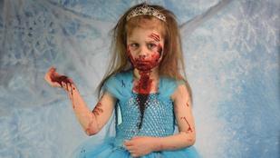 Menő vagy ciki zombiként fotóztatni a gyereket?