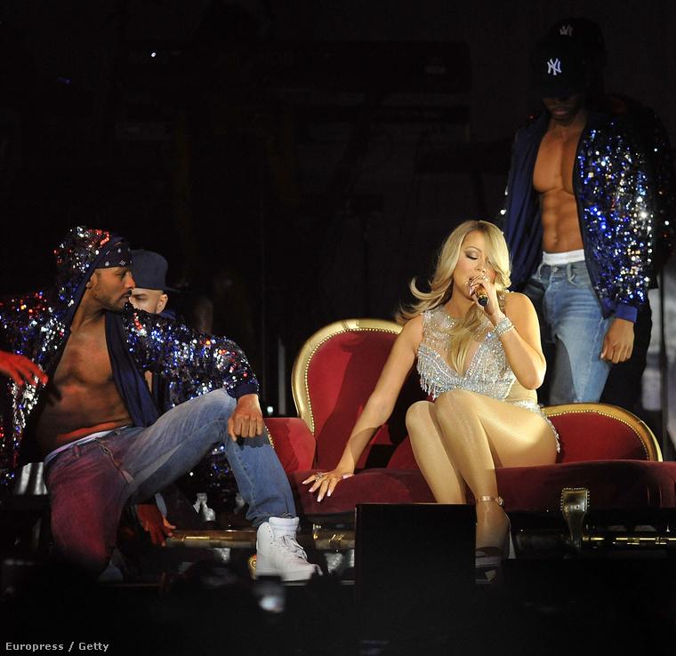 Mariah Carey Londonban lép fel