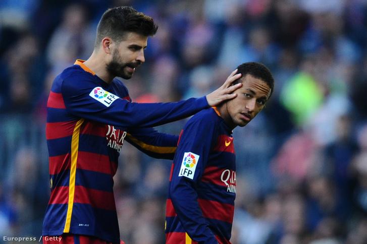 A nyakleves inkább Piquének járnak, nem Neymarnak