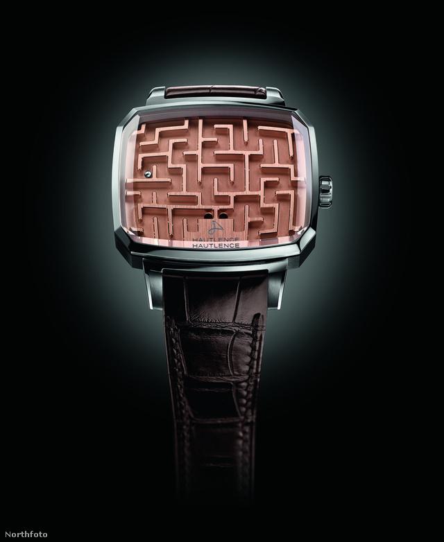 Íme az óra, ami nem mutatja az időt, ellenben drága.