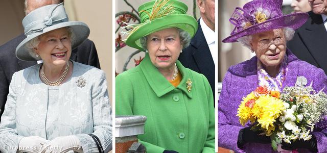 Nézegessen megannyi színes kalapot és a britek kedvenc királynőjét!