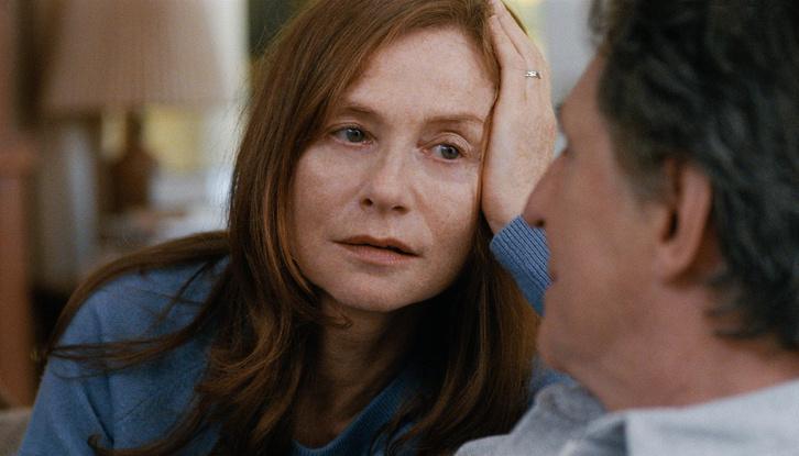 Isabelle Huppert úgy főszereplő, hogy az egyik első jelenetben meghal