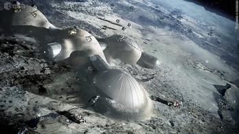 Holdvárost tervezett az Európai Űrügynökség