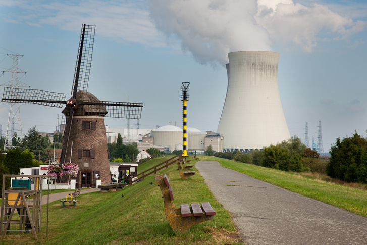 A belga Doel atomerőmű