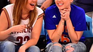 Miley Cyrus egész emberien is tud kinézni