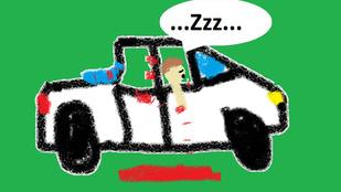 Mindent összevérzett az álmos autófeltörő