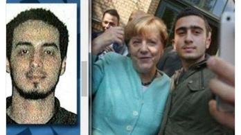 Nem, Merkel nem lőtt közös szelfit egy terroristával