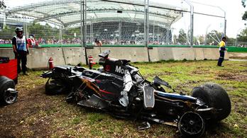 Eltört Alonso ülése az ausztrál balesetben