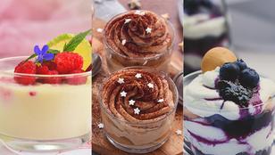 20 poharas desszert, amit imádni fog