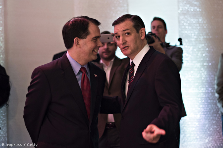Scott Walker és Ted Cruz
