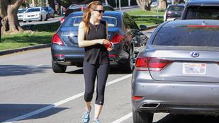 Jennifer Garner megjutalmazza magát edzés után