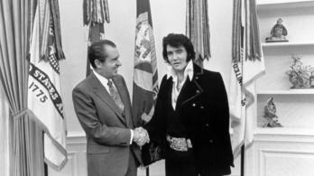 Vígjáték készült Elvis és Nixon fehér házi találkozójáról