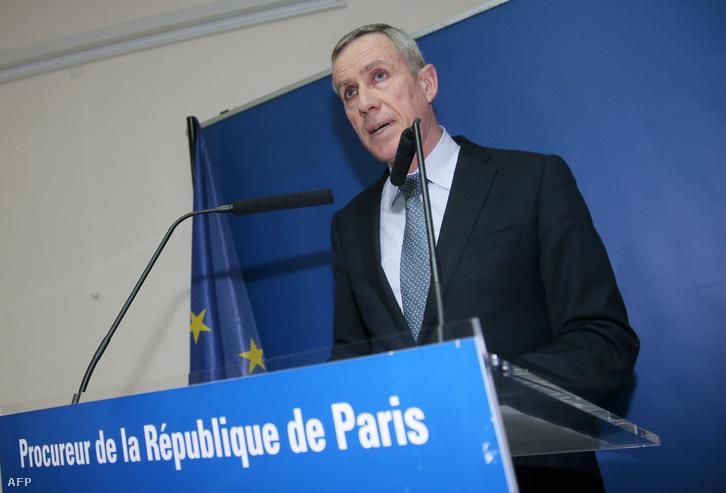 Francois Molins francia főügyész.