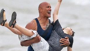 Az új Baywatch-ban így ment majd életeket Dwayne Johnson