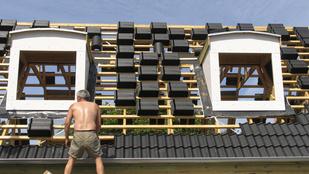 A tető is lehet energiatakarékos