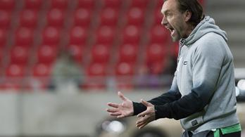 Két meccsre eltiltották a Fradi edzőjét