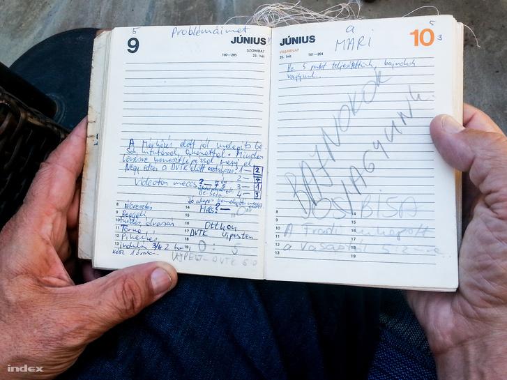 A napló és a bejegyzés, megnyerték