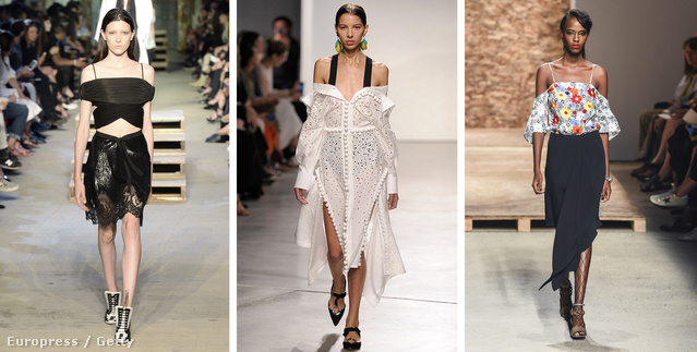 Givenchy, Proenza Schouler, Creatures of the Wind féle vállvillantás