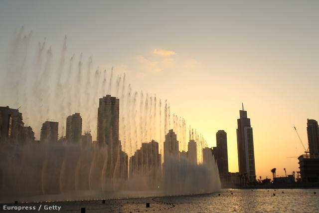 Dubaj szökőkút