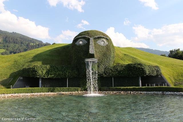 Swarovski Kristályvilág, Wattens, Ausztria