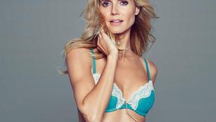 Heidi Klum bugyiparádéja egyre hatásosabb