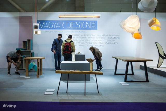 180 négyzetméter, közel két tucatnyi tervező. Ez az idei Magyar Design stand