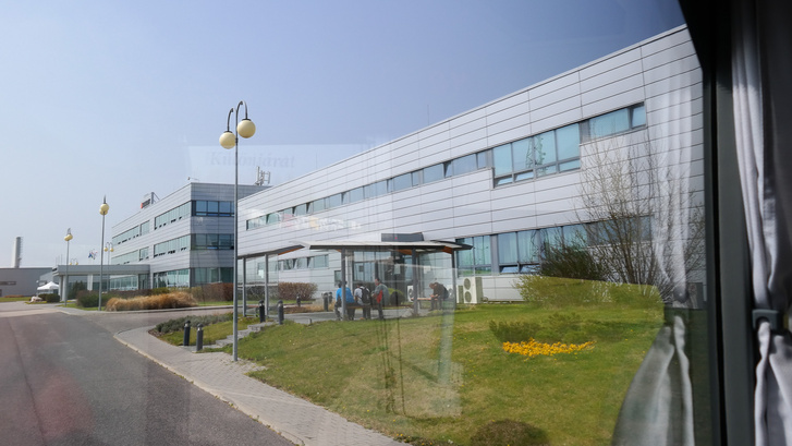 Kémfotó a rácalmási gyárról