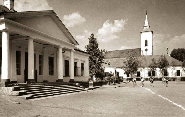 Egy archív felvétel a kastélyról