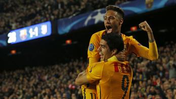 Kismillió bónusz Neymar Barca-szerződésében