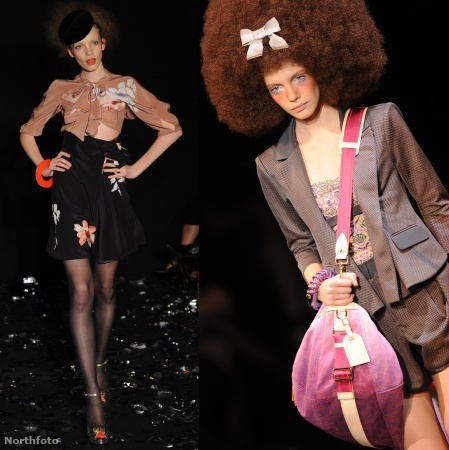 Srej Zsófi Sonia Rykiel és a Louis Vuitton bemutatóin