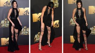 Kendall Jenner melléfogott az MTV Movie Awards-on