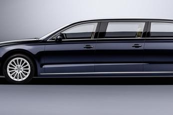 Elnöki limuzint készített az Audi