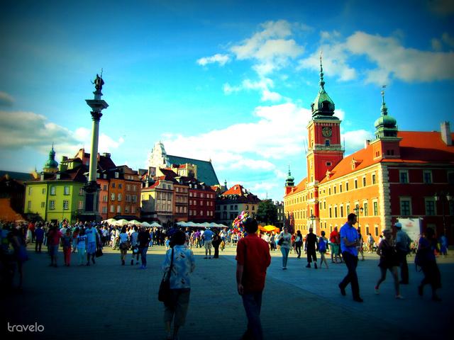 Varsó, Királyi Palota és az óváros