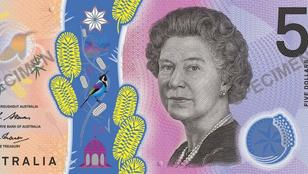 Vécékefe is került az új ausztrál ötdollárosra